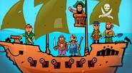 Treasure Island is under attack! Awesome Pirates want to dig it all over, looking for hidden treasures. Use your only cannon to stop them – aim carefully and […]