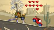 Car nightmare returns! You're small racing car, being chased by evil, fuel-thirsty monster dragsters. Drive as fast as you can, escape them and avoid many obstacles on your […]