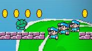 Crazy plumbers are back! Collect coins to clone yourself. Control you clones, avoid monsters and deadly obstacles and try to find flag on every level to get to […]