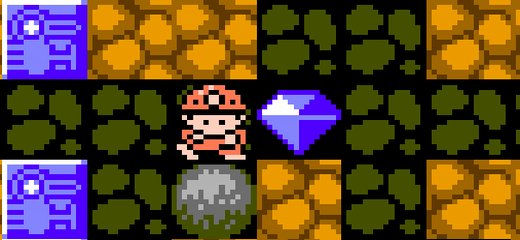 Classic retro game, now in a free online version! In Boulder Dash (see Wikipedia entry for that legendary game) you goal is to collect all diamonds, don't get […]