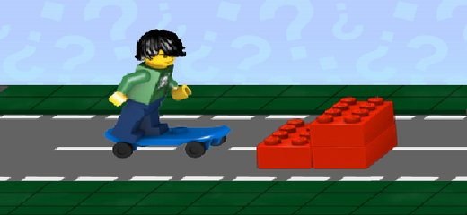 Awesome game for all LEGO and skateboarding fans: control your LEGO minifig skateboarder during the street jam – jump over obstacles, perform tricks and avoid deadly obstacles (yep, […]