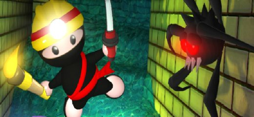 Ninja Miner returns! Collect all gems and other precious objects on your way during mine exploration. Find the exit on every level, and don't get yourself killed. And […]