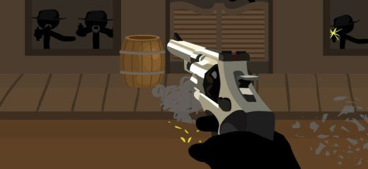 Wild West and Stickmen are back, in the second installment of this great Western-style shooting game. Shoot bad guys and don't get shot – it's as simple as […]