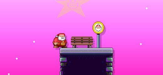 Santa Claus is late to work! Help him to get to the toy factory as soon as possible; jump over deadly spikes and try to reach the destination […]