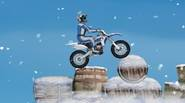 It's time for some winter bike stunts! Get on your motocross bike and ride through extreme, winter obstacle course. Jump over barrels, rocks and other deadly things. Don't […]