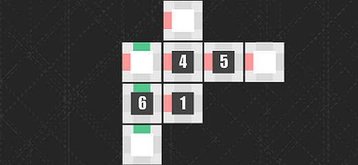 Mind-twisting puzzle game. Put the right numbers in the missing places on the dices. The only problem is that the dices are totally flattened and you need to […]