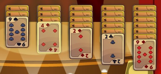 Enjoy the classic Klondike Solitaire in the Gold edition. Read the in-game instructions to get familiar with rules for all Klondike Solitaire versions available in this great game. […]