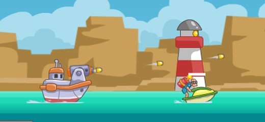 Rescue your kidnapped dolphin pet – get into your motorboat and eliminate every enemy vessel and helicopter that you see. Move quickly and shoot precisely to save your […]