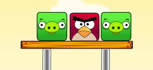 Nice physics puzzle game for all Angry Birds fans. Make Pigs fall down and crash into the ground by cutting various objects. Important thing: don't ever let Angry […]