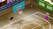 Fantastic 2-players basketball game. Play one-on-one match against computer or your friend. Dribble, jump, shoot and block to show who actually rules the the court. Enjoy! Game Controls: […]