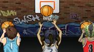 Three players and one basket – score as many points as you can within time limits. Press 1,2,3 or click on players to shoot. Score 4 baskets in […]
