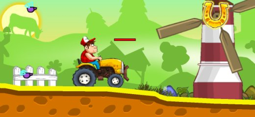 It's time for some redneck tractor racing! Get into your monster machine and race against computer in this fantastic countryside racing game. Collect pumpkins and horseshoes. Destroy things, […]