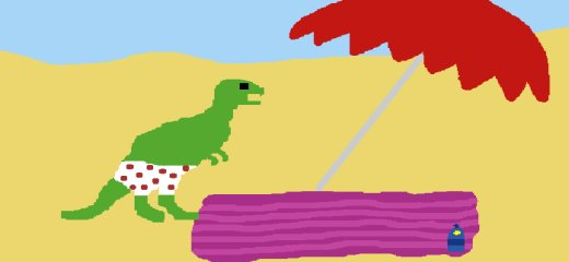 Mr. Dinosaur goes to the beach… Follow his adventures and epic struggle to save the world and the whole universe. This game is important. If you like games […]