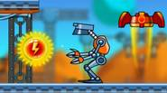 Friendly robot Rick returns in this great platform game. Your spaceship had major failure and you crash-landed on the desert planet. Help Rick to collect all energy balls, […]