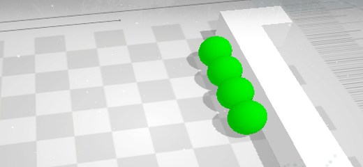 Very intriguing 3D puzzle game. Your goal is to move all green objects towards the green square field. Once you choose the direction, all objects in the scene […]