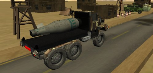 Get behind the steering wheel of the military flatbed truck and transport nuclear bombs to the weapon depot. Drive carefully and don't shake or crash your vehicle… otherwise […]