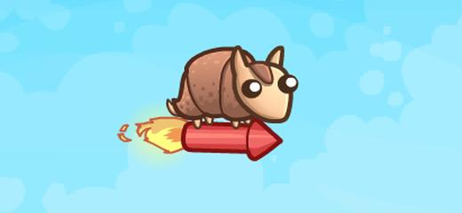 Totally crazy launch game in which your goal is to launch the armadillo and make him fly as far as possible. You can use rocket to boost your […]