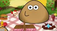 Pou wants to have a picnic in a park. Choose food and other accesories and watch him having fun! Game Controls: Mouse
