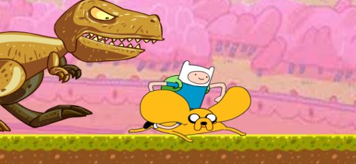ADVENTURE TIME AMAZING RACE