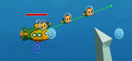 Help the Nyan Cat Underwater Team in their heroic fight against Evil Fish. Drag a line from their submarine to lead the Nyan troops to attack. Good luck! […]