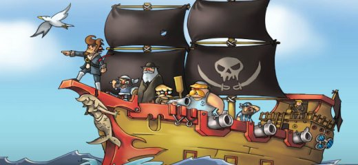 Ahoy Pirates! Get onboard, load yer cannons and fight, rob and loot enemy ships… you can even join the quest for the Precious Artifact, the powerful object that […]
