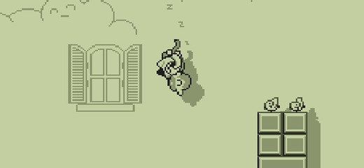 Dangerously funny game in which your goal is to fly in a dream of totally stoned (or drunken maybe?) man and collect doves. Nostalgic, LCD pixel design will […]