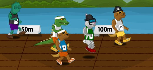 Funny game in which your goal is to train the animal of your choice and make it a champion. You can upgrade various features: health, agility, reactions, stamina, […]
