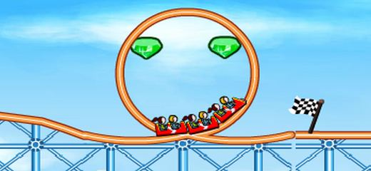The second part of the great rollercoaster building simulator. Create your own rollercoaster, remembering that you should collect all gems on the level to proceed to the next […]