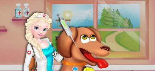 Elsa wants to take care of sick animals… help her in diagnosing and treating heat patients as good as it's possible. Lots of fun! Game Controls: Mouse