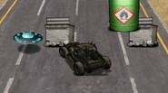 Alien invaders have attacked our planet Earth! Get into your military vehicle and smash as many flying saucers as you can. Avoid concrete barriers, collect fuel and upgrade […]