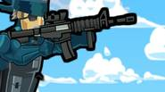 Fantastic platform shooter in which your goal, as the mercenary, is to get as far possible into enemy territory and eliminate all enemy soldiers on your way. Shoot, […]