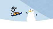 Fancy Pants is back, this time he tries to do some snowboarding… It's up to you if he makes it to the finish line! Help Fancy Pants by […]