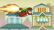 Get your Jetpack and explore various worlds, collecting golden coins and power-ups. Watch out for obstacles and anjoy this crazy arcade game! Game Controls: Mouse
