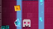 Crazy escape game in which you're a funny yellow pixel block, trying to escape the hot lava that fills up the cave. Jump higher and higher, meet your […]