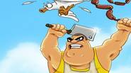 Totally insane game in which you play as the angry butcher who wants to take revenge on the seagulls that stole his lunch. Hack'n slash evil birds and […]