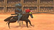 Two knights, two horses and two lances… who will win the jousting tournament? Just press quickly your key and beat your opponent to gain fame and fortune. You […]