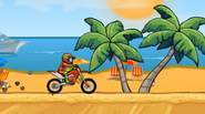 Moto X3M offers you some extreme racing experiences… Get on your bike and race against time and some extreme obstacles. Have fun! Game Controls: Arrow Keys – Steering