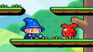 Simple, yet funny platform game in which your goal is to clear the level of the red rabbits. Move the wizard and remember that shooting happens when you […]