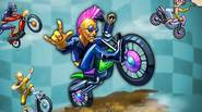 A challenging and funny motorcycle racing game in which your goal is to be the first on the finish line and performa as many dangerous tricks as you […]