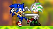 Help Sonic The Hedgehog in the battle against evil. Fight your way through the series of turn-based duels, performing various attacks and combos. This is a real gem […]