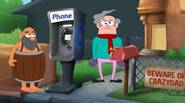 Crazy Dad is back! This time someone did a massive fraud on his neighbouring payphone… but the bill went to Dad! Find the fraudster and make him pay […]
