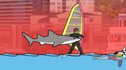 It's been quite a while since the evil shark attacked innocent people… Now he's back in L.A. wreaking havoc on unsuspecting surfers, swimmers and beach bunnies. Eat, crunch, […]