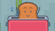Bread Pit has only one goal in his life – to get some suntan in the toaster. Help him to get into the device, by clicking on various […]