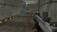 A challenging 3D first person shooter. Explore the underground facility, eliminate enemy troops and accomplish your mission objective. Good luck! Game Controls: Arrow Keys or WASD – Move. […]