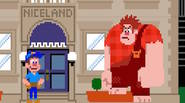 "A funny game that has been featured at the famous ""Wreck-It Ralph"" movie. As the eponymous hero, your goal is to fix all windows broken by the angry […]"