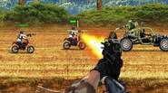 A fast paced shoot'em up game, in which your goal is to defend the getaway buggy car with an array of automatic weapons. Take down all enemies that […]