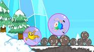 Jake and Finn are on their well deserved winter holidays. They decided to try downhill zorbing… and it turns out to be a really tough challenge! Roll as […]