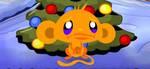 MONKEY GOES HAPPY XMAS TREE
