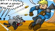 An awesome bullet-storm / defense game inspired by the legendary game series Fallout. Raiders have attacked you and kidnapped Scrappy, your dog. You were saved by one of […]