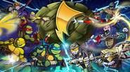 Wow! This is a real piece of a fighting game! It's high time to settle the score between Teenage Mutant Ninja Turtles and Power Rangers. Challenge your opponents […]